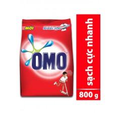 Bột Giặt Omo đỏ 800g