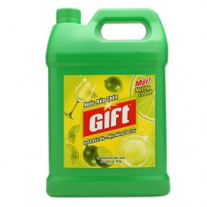 nước rửa chén gift hương chanh 4kg